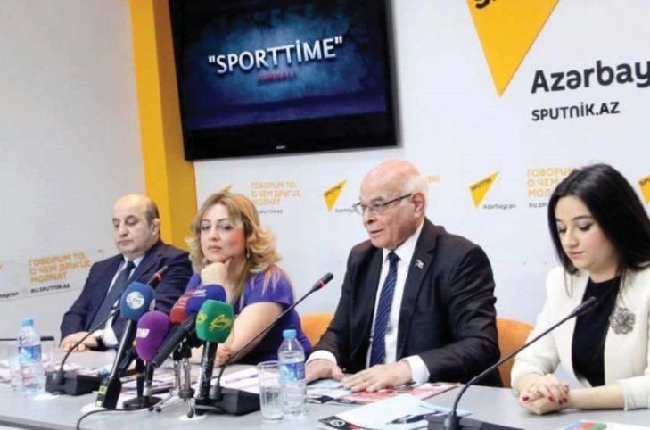 """""""Sport Time"""" jurnalının təqdimat mərasimi"""