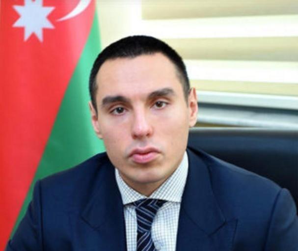 Azərbaycan Ağır Atletika Federasiyasının vitse‐prezidenti, peşəkar idmançı Azər Əliyev