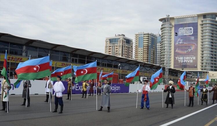 Formula 1 yarışından maraqlı FOTOLAR(Bakı-2021)