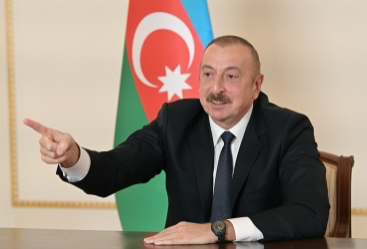 """Prezident İlham Əliyev: """"Biz bu danışıqlardan boğaza yığılmışıq"""""""
